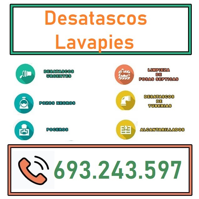 Desatascos Lavapies